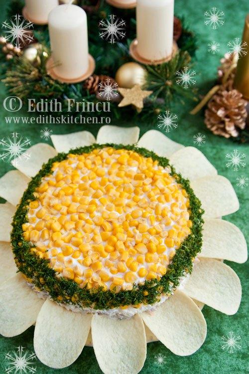 Salata floarea soarelui