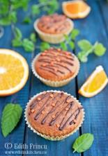Muffins cu portocale