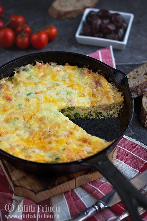 frittata-cu-sunca-si-legume-2