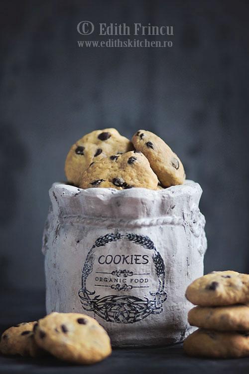 Biscuiti de post cu ciocolata