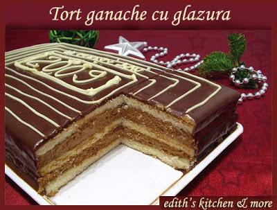 tortganachecuglazura - TORT GANACHE CU GLAZURA