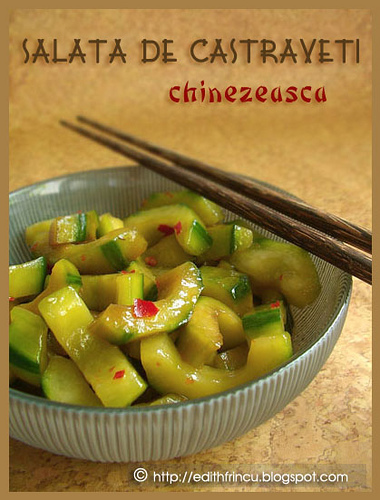 salata chinezeasca de castraveti