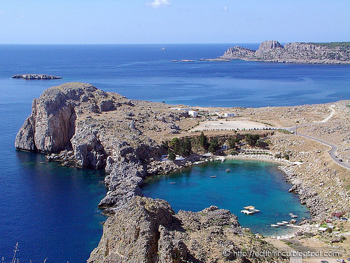 Golf in Lindos 1