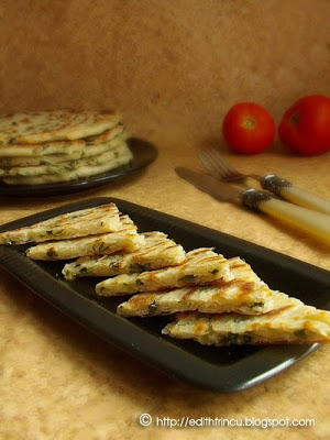 Clatitechinezesti - SCALLION PANCAKES (CHINA)