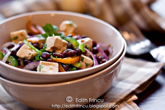 salata de fasole azuki 1