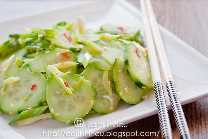 salata coreeana de castraveti 1