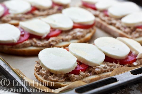 sandvisuriintava thumb5 1 - SANDVISURI CU TON SI MOZZARELLA
