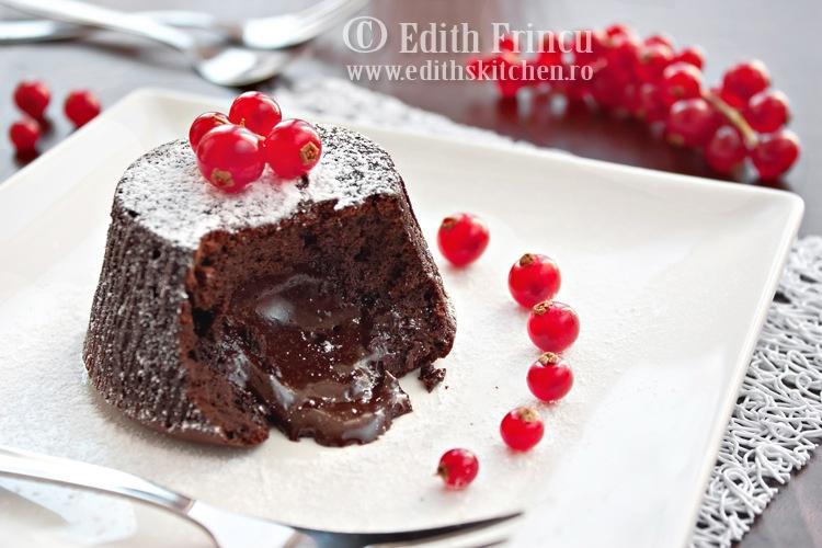 briose de ciocolata cu centrul lichid 1