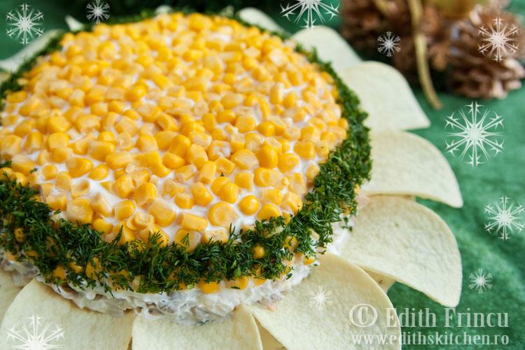 salata floarea soarelui 1 - Salata floarea soarelui