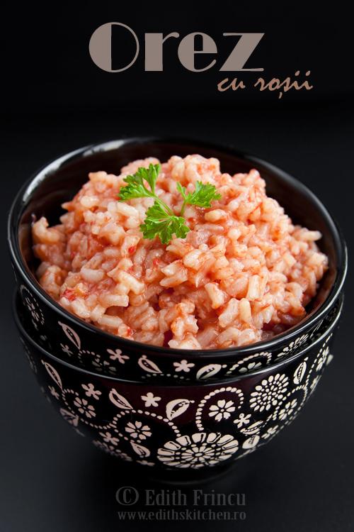 orez cu rosii - OREZ CU ROSII