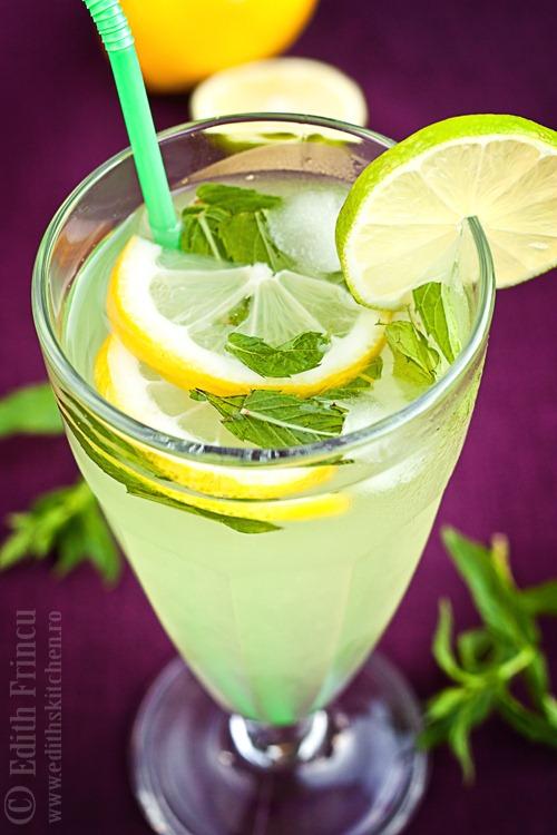 limonada cu menta 1 thumb2 1 - LIMONADA CU MENTA