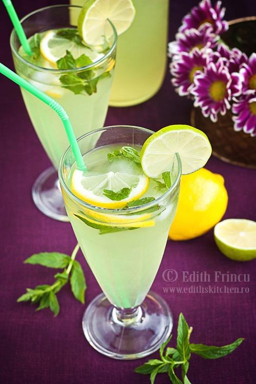 limonada cu menta thumb2 1 - LIMONADA CU MENTA