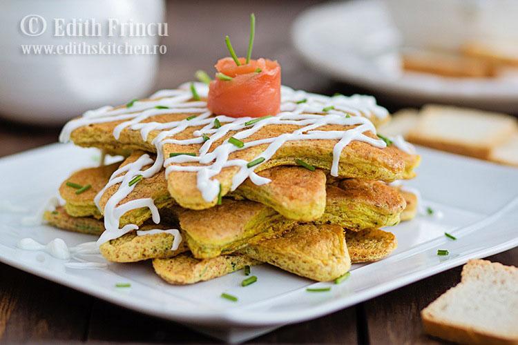 pancakes cu somon afumat 1 - Pancakes cu somon afumat