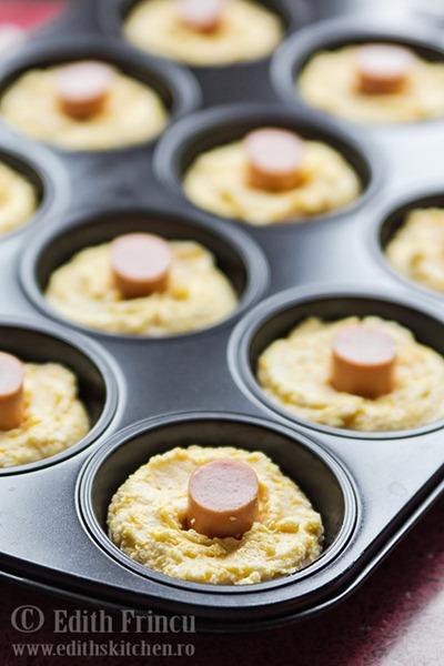 corn dog muffins tava