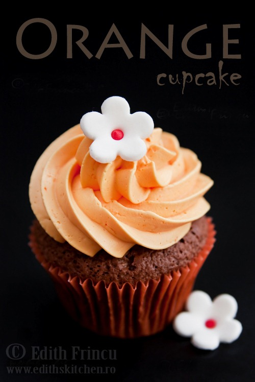 orange cupcake 1