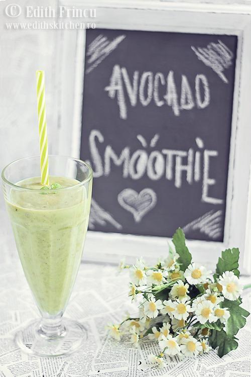 smoothie de avocado