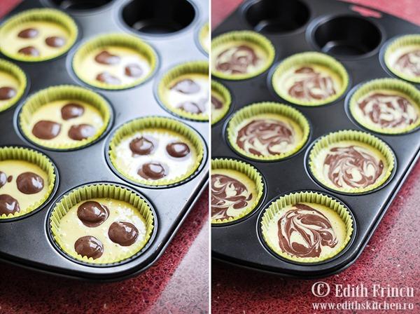 cheesecakes252520tava thumb25255B425255D - Mini cheesecake cu cacao