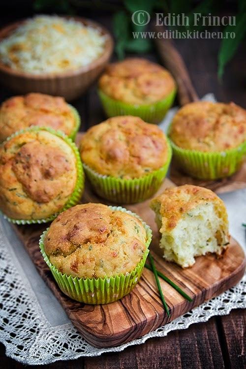 muffins cu chives