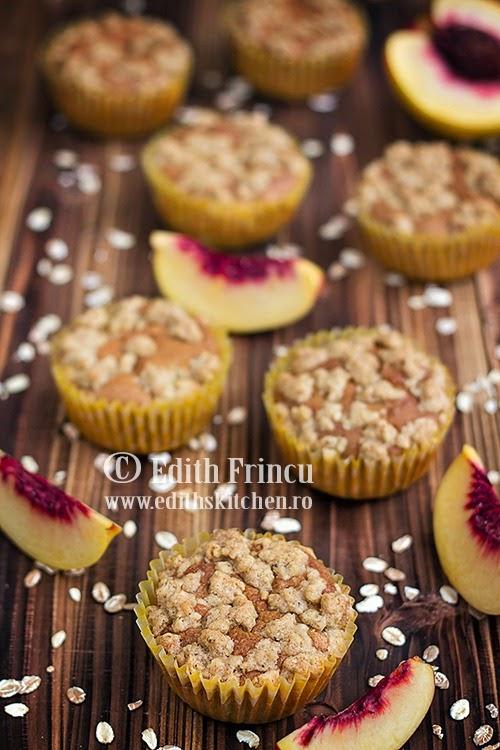 muffins cu piersici 2