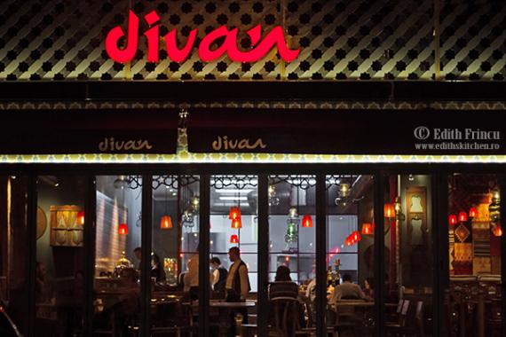 Cina la divan si o invitatie edith 39 s kitchen for Divan floreasca