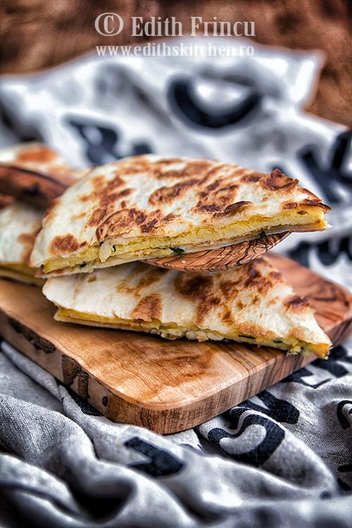 quesadilla cu omleta 1 1 - Omleta quesadilla