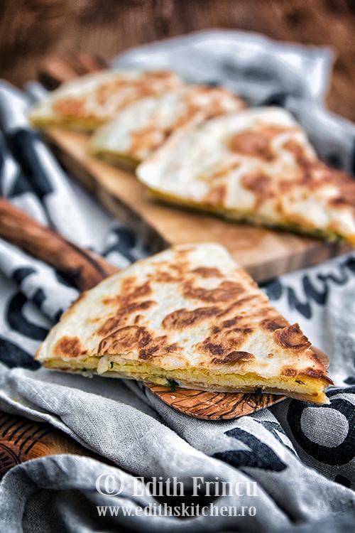 quesadilla cu omleta 2 1 - Omleta quesadilla