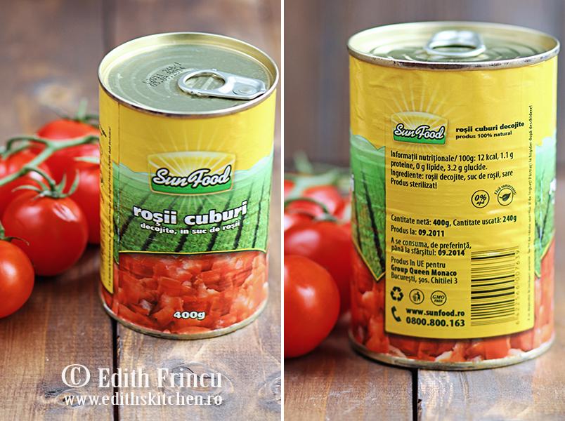 conserve rosii Sun Food
