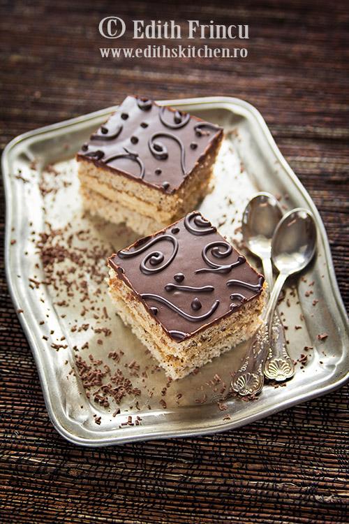 prajitura cu ness si ciocolata 1