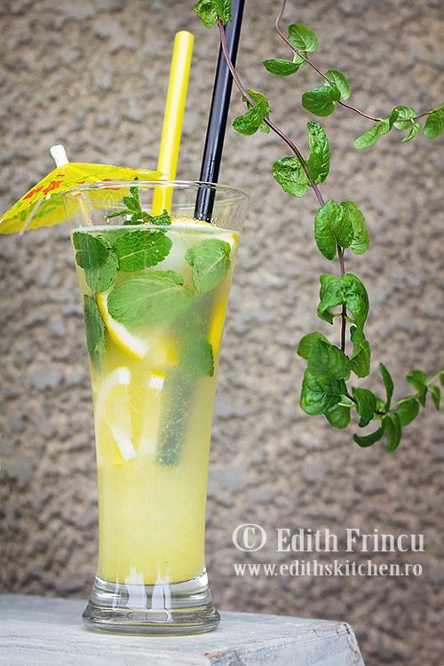 limonada cu ghimbir 1 1 - Limonada cu ghimbir