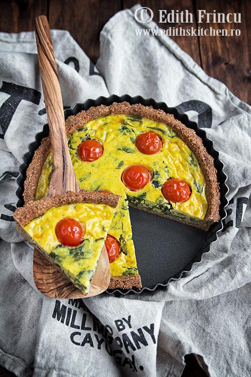 tarta cu spanac 2