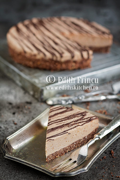 cheesecake cu ciocolata - Cheesecake cu ciocolata