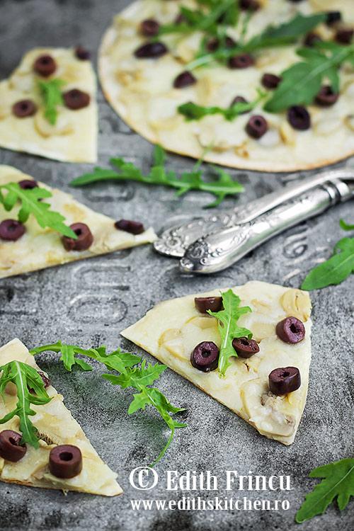 pizza rapida cu ciuperci SunFood 2 - Pizza rapida cu ciuperci