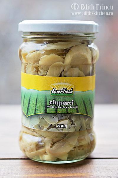 ciuperci SunFood - Clatite cu pui si ciuperci