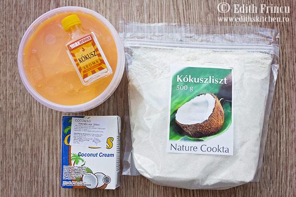 produse adiograsime.ro  - Pancakes cu cocos