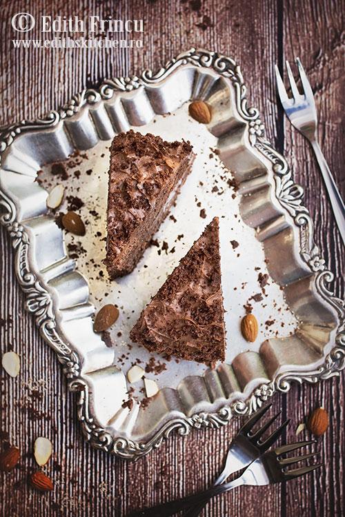 tort cu rom si cacao 2 - Tort cu rom si cacao