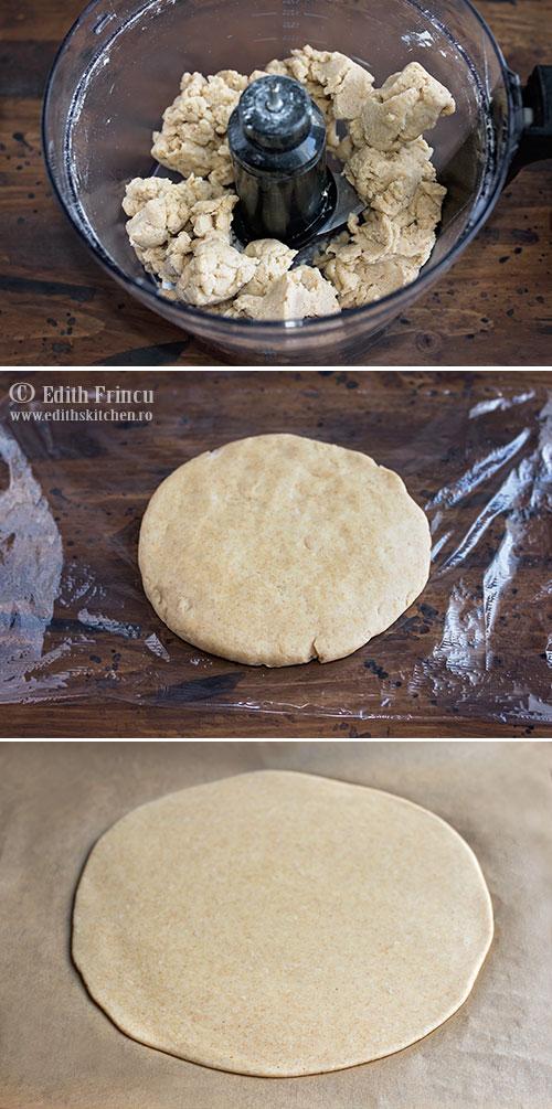 aluat galette - Galette cu spanac si trei feluri de branza