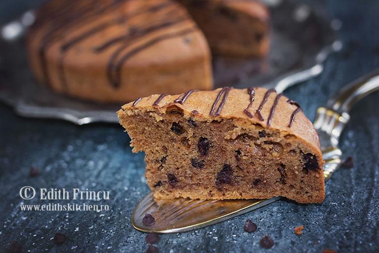 prajitura cu unt de arahide 2 - Prajitura cu unt de arahide si ciocolata