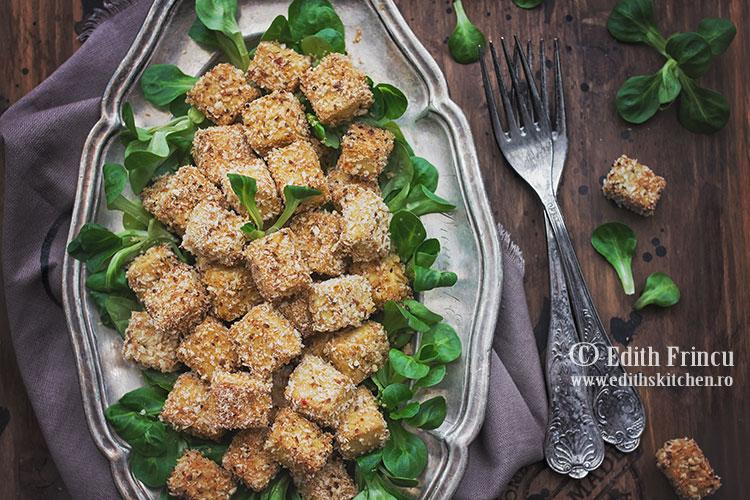 tofu pane 2 - Tofu pane la cuptor