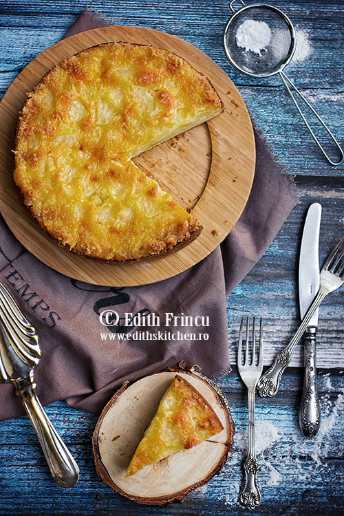 Prajitura cu ananas / / Edith's Kitchen