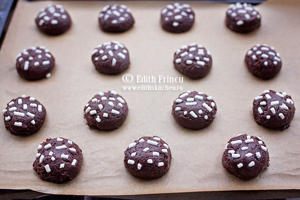 biscuiti cu rom si cacao in tava - Biscuiti cu rom si cacao