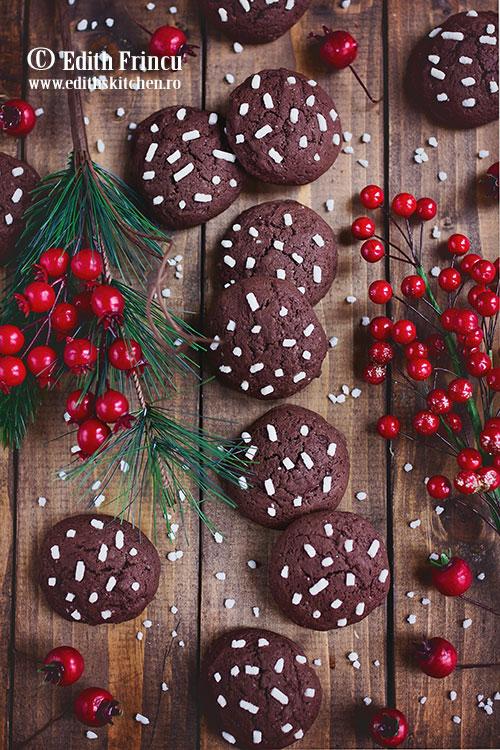 biscuiti cu rom si cacao - Biscuiti cu rom si cacao