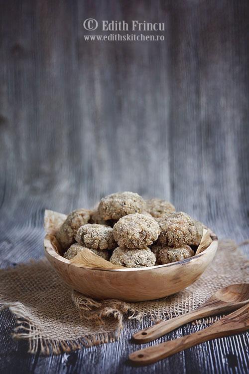 chiftelute de ciuperci cu orez - Chiftelute de ciuperci cu orez