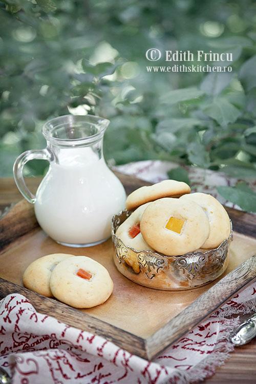 biscuiti cheesecake - Biscuiti cheesecake