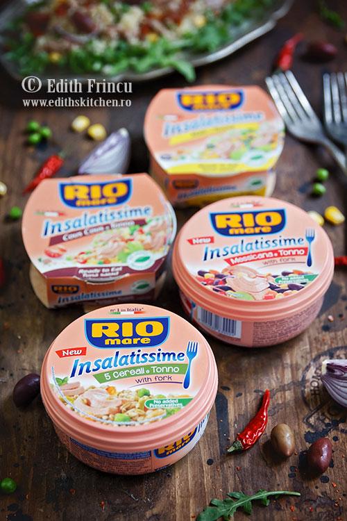 insalatissime RIO Mare - Salata cu ton si cous cous