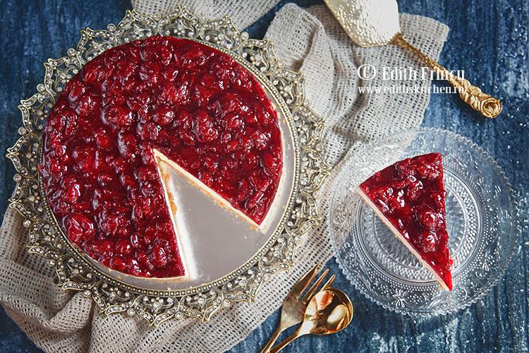 cheesecake cu visine 2 - Cheesecake cu visine
