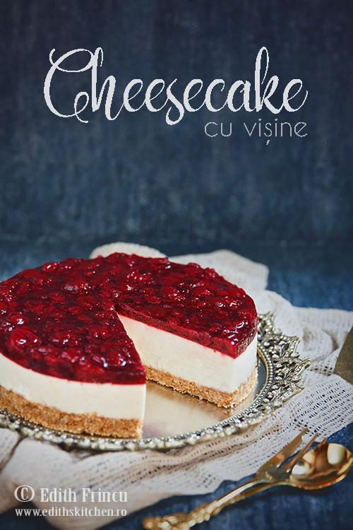 cheesecake cu visine - Cheesecake cu visine