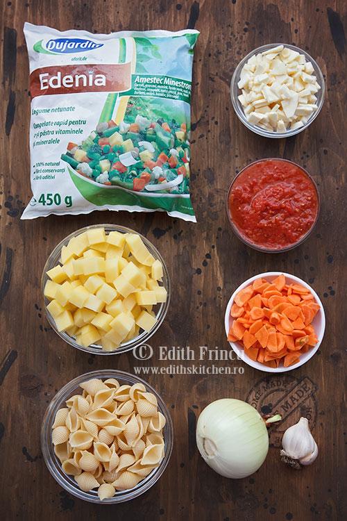 ingrediente supa minestrone - Supa minestrone