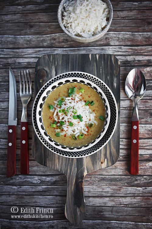 supa crema de linte cu cocos - Supa crema de linte cu cocos
