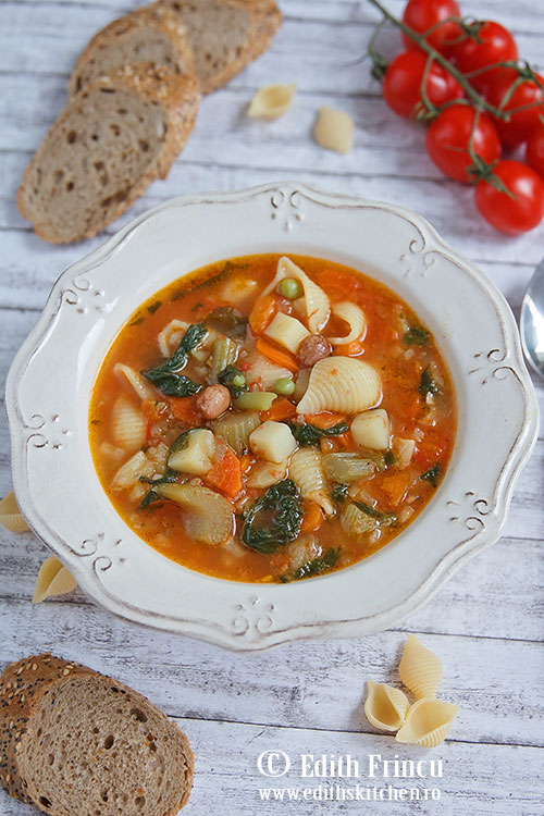 supa minestrone - Supa minestrone