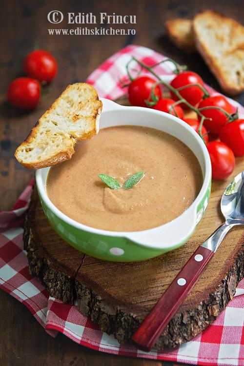 supa rece de linte 1 - Supa rece de linte